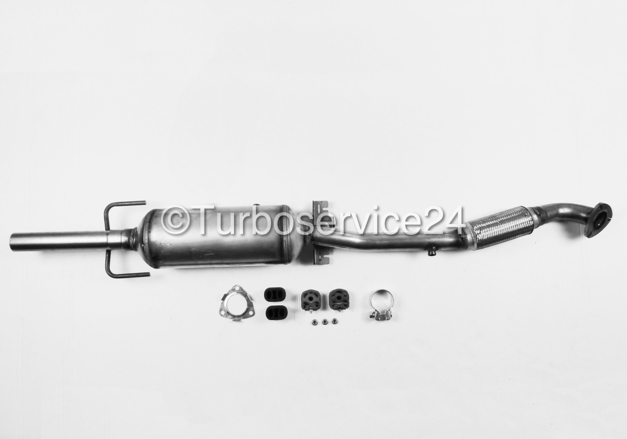 new dpf diesel particulate filter for opel astra h zafira. Black Bedroom Furniture Sets. Home Design Ideas